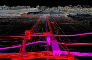 Silvertown 3D Utility Survey Model