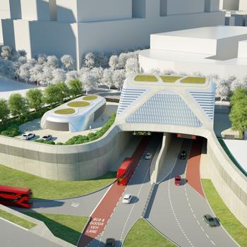 Silvertown - Tunnel Approach