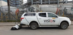 Towed GPR for PAS 128 Utility Surveys