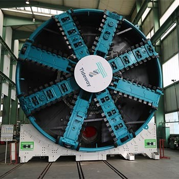 thames tideway tunnel boring machine to be used to dig the main tunnel of the sewer