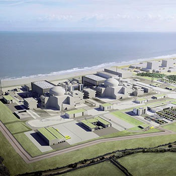 artist impression of the completed hinkley point 5 project