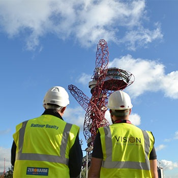 Olympic stadium development by Vision Engineering