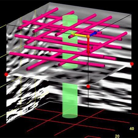 Structural Rebar Mapping | GPR Surveys | Vision Survey Ltd