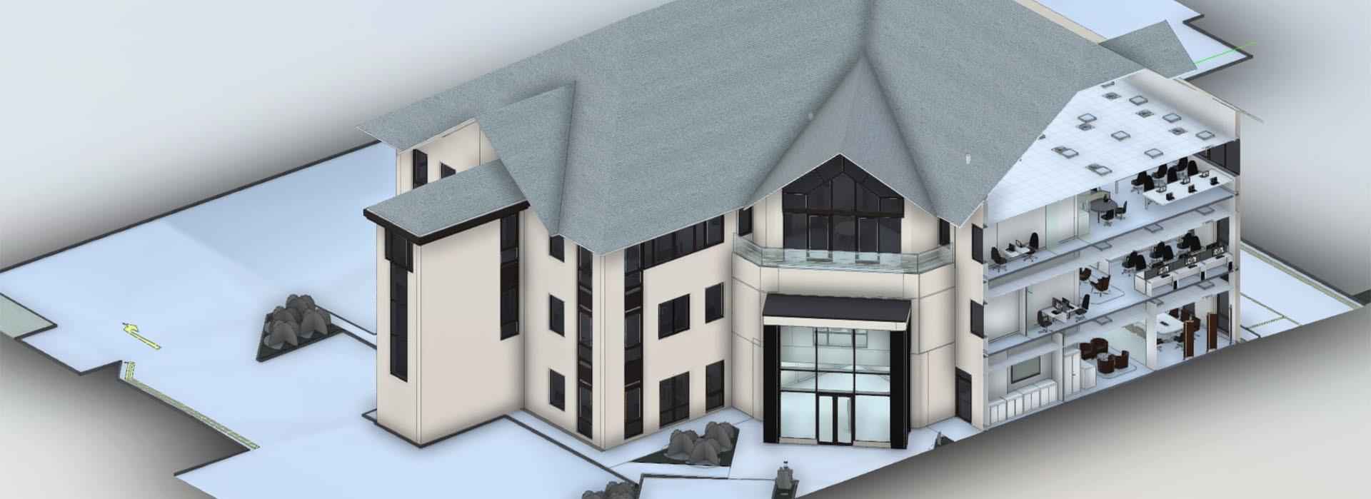 Measured Building Surveys by Vision Engineering