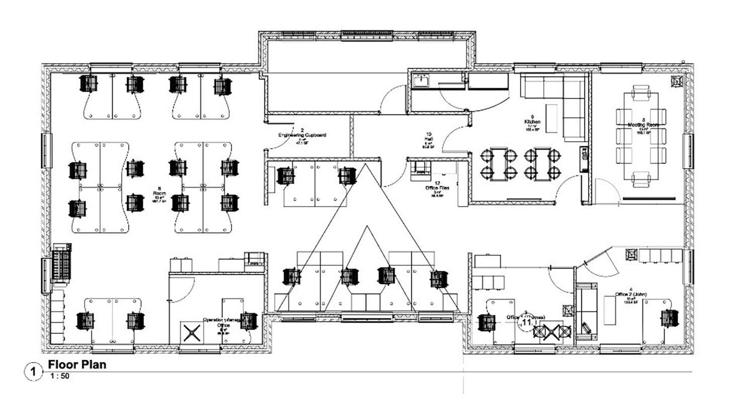 floor plan talisman house